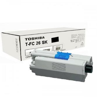Toshiba originální toner TFC26SK7K, black, 7200str., 6B000000559, 6B000001097, high capacity, Toshiba e-Studio 262CP, 222CS, 263CS
