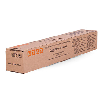 Utax originální toner 662510011, cyan, 6000str., Utax 2550ci, O