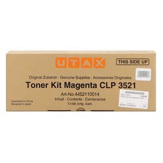 Utax originální toner 4452110014, magenta, 4000str., Utax CLP 3521, O