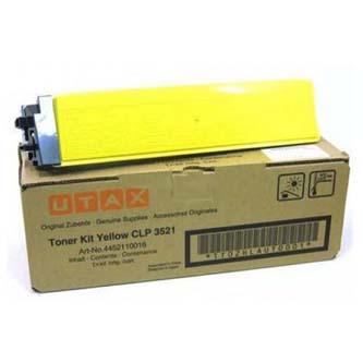 Utax originální toner 4452110016, yellow, 4000str., Utax CLP 3521, O