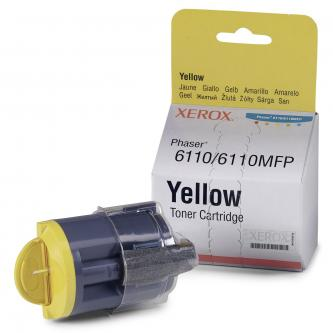 Xerox Toner Yellow pro Phaser 6110/MFP 6110 (1 str)