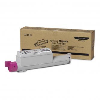 Xerox originální toner 106R01219, magenta, 12000str., Xerox Phaser 6360, O