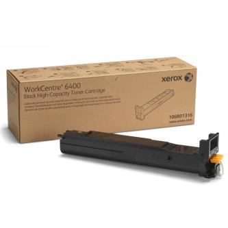 Xerox originální toner 106R01316, black, 12000str., Xerox WorkCentre 6400, O