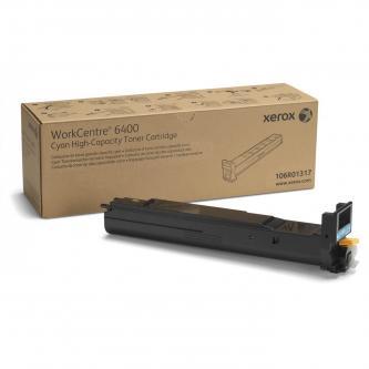 Xerox originální toner 106R01317, cyan, 16500str., high capacity, Xerox WorkCentre 6400, O