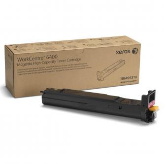 Xerox originální toner 106R01318, magenta, 16500str., high capacity, Xerox WorkCentre 6400, O