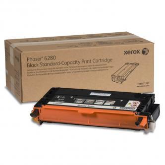 Xerox originální toner 106R01391, black, 3000str., Xerox Phaser 6280