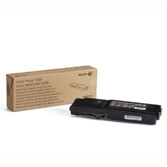 Xerox originální toner 106R02236, black, 8000str., Xerox Phaser 6600, Workcentre 6605