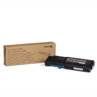Xerox originální toner 106R02249, cyan, 2000str., Xerox Phaser 6600, WorkCentre 6605