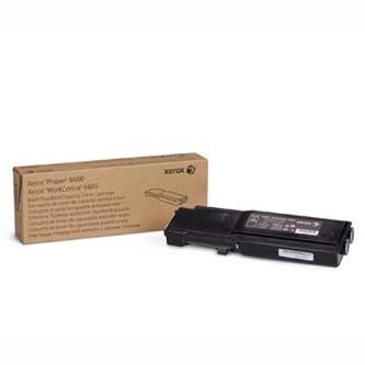 Xerox originální toner 106R02252, black, 3000str., Xerox Phaser 6600, WorkCentre 6605