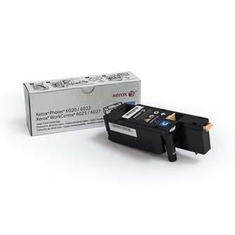 Xerox originální toner 106R02760, cyan, 1000str., Xerox Phaser 6020, 6022, WorkCentre 6025, 6027