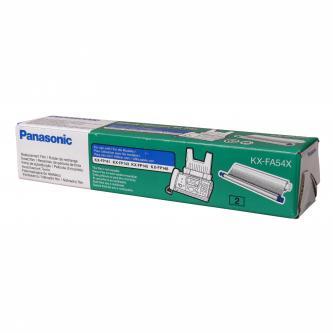 Panasonic originální fólie do faxu KX-FA54X, 2*114s, Panasonic Fax KX-FP 148CE, 145, 143, KX-FC 231, 233, 235, 23