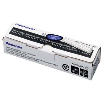 Panasonic originální toner KX-FA76E/A, black, 2000str., Panasonic Laserfax KX-FL503CE, 501, 752EX, 751, 753, 551, 5, O