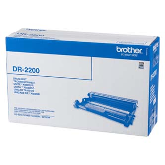 Brother originální válec DR2200, black, 12000str., Brother HL-2240D, 2250DN