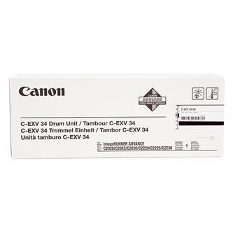 Canon originální válec CEXV34BK, black, 3786B003, 43000str., Canon iR-C2020, 2030