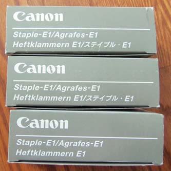 Canon originální staple cartridge 0251A001, 3x5000, Canon COPY GP335