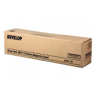 Develop originální válec A0XV1TD, C/M/Y, DR-311C/M/Y, 1ks vymenit za kazdou barvu, 55000str., Develop ineo +220, +280, +360