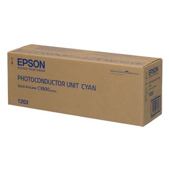 Epson originální válec C13S051203, cyan, 30000str., Epson AcuLaser C3900, CX37