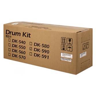 Kyocera originální válec DK-590K, black, 302KV93017, 302KV93018, 302KV93010, 302KV93014, 200000str., Kyocera FS-C2026MFP,FS-C2126M