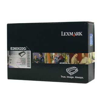 Lexmark originální válec E260X22G, black, 30000str., Lexmark Optra E260
