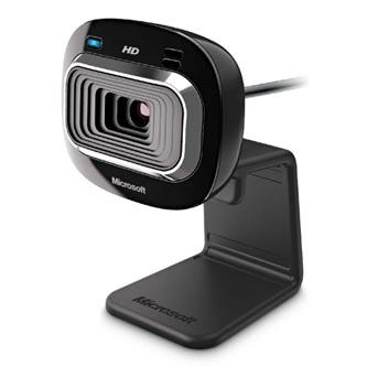 Microsoft Web kamera HD-3000 Win USB, 1,3 Mpix, USB 2.0, černá