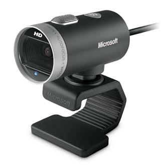 Microsoft Web kamera LifeCam Cinema, 1,3 Mpix, USB 2.0, černá