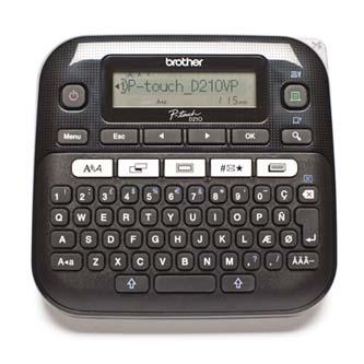 Tiskárna samolepicích štítků Brother, PT-D210VP, s kufrem