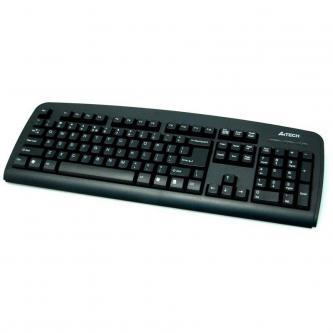 A4Tech KB-720, Klávesnice CZ, klasická, drátová (USB), černá