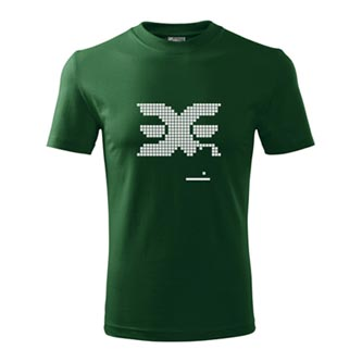 Tričko EERINESS RETRO zelené, vel. S