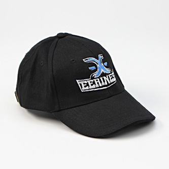 EERINESS - kšiltovka, černá, vyšité logo